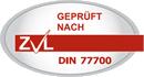 Zertifiziert nach DIN 77700